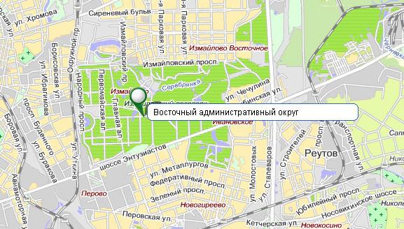 Восточный административный округ - ВАО