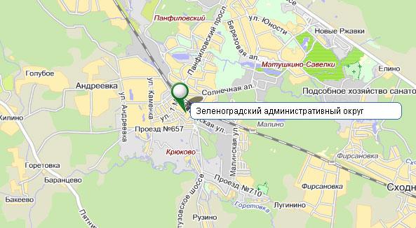 Зеленоградский округ