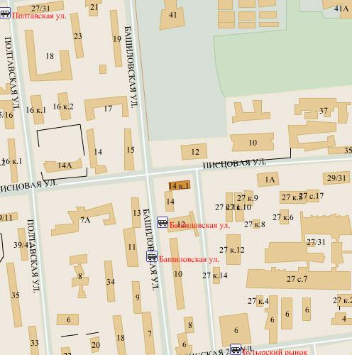 Москва, башиловская улица, дом 1, корпус 1, серия: ii-49д (сао, район савеловский)